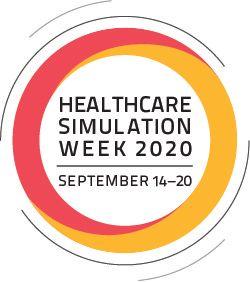 Healthcare Simulation Week 2020 Logo Circle
